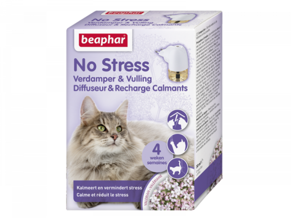 Beaphar No Stress Diffuseur et Recharge Chat