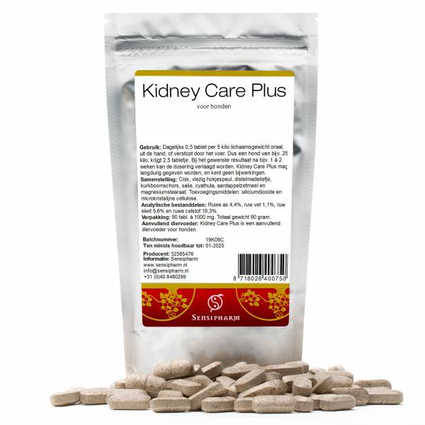 Sensipharm Kidney Care Plus Chien 90 Comprimés