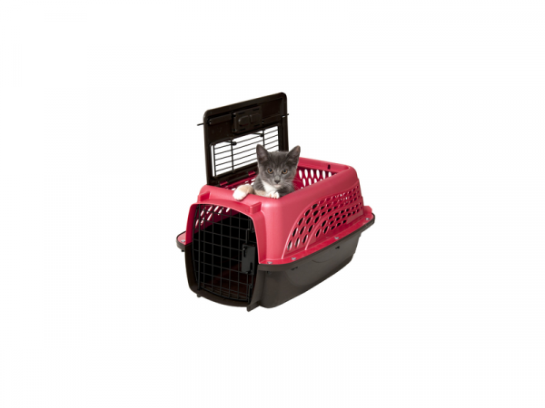 Petmate 2 Door Top Load Cage de Transport XS Rose
