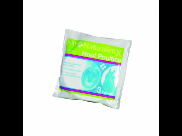 NAF NaturalintX Sabot Compresses Poultice 10 pièces