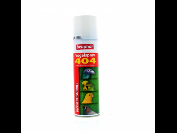 Beaphar 404 Spray pour Oiseaux - 250 ml