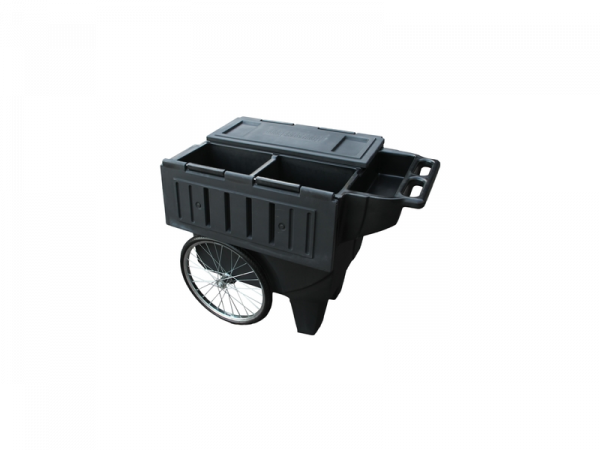 Sportote Feed Cart Black Chariot d'alimentation Cheval