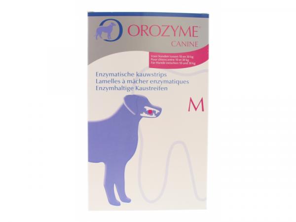 Orozyme canine lamelles medium 10À30kg