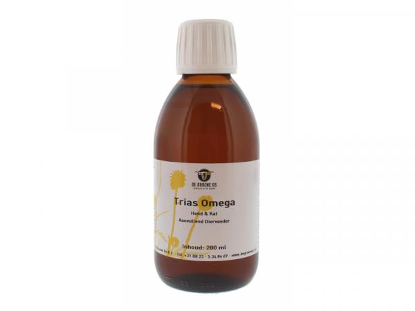 Trias Omega Groene Os Chien Chat 200 ml