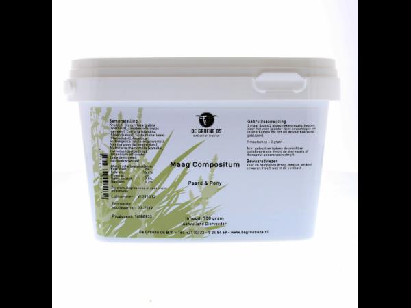 Estomac Compositum Cheval Groene Os 750 grammes