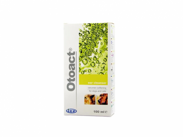 Otoact Nettoyant auriculaire Chien Chat 100 ml