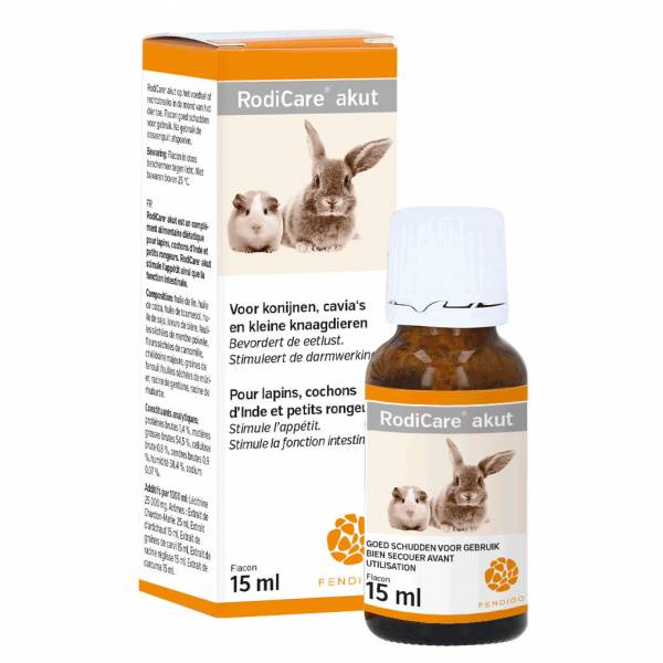 RodiCare Akut Nutrition Lapin Cochon d'Inde 15 ml