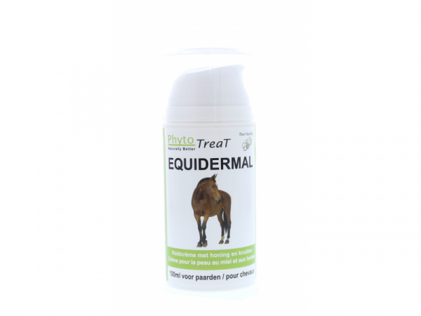 Phytotreat Equidermal Equileg Pommade Peau Cheval Pompe flacon 100 ml