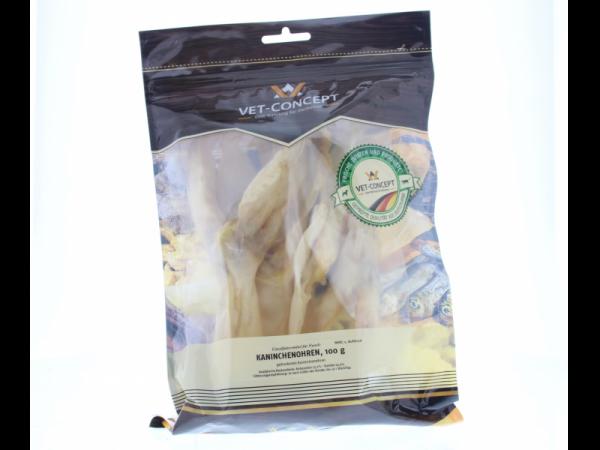 Vet-concept Oreilles Lapin Snack Hond 100 grammes