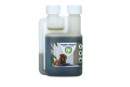 HempOne + Omega Oil Chien Chat