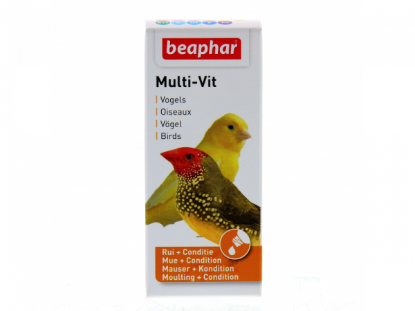 Beaphar Multi-Vit Oiseaux 20 ml