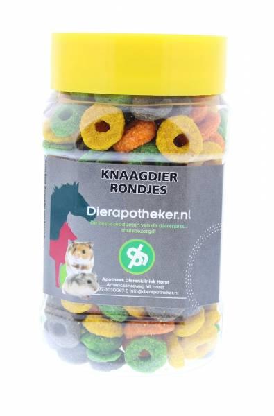 Rongeurs Snack Ronds Dierapotheker.nl 150 grammes