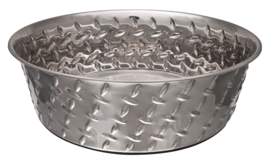 Gamelle Diamond Plated Bowl
