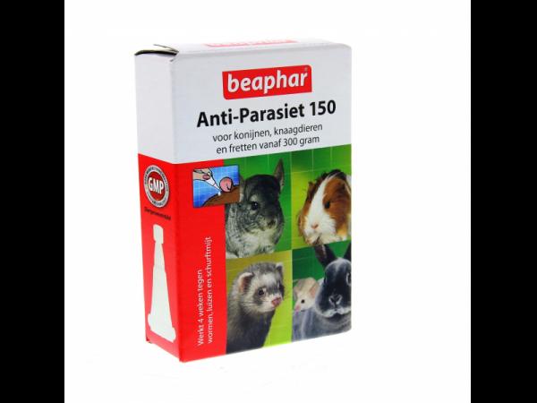 Beaphar Anti-Parasites 150 Rongeur 4 pipettes
