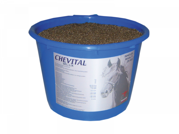 Chevital Sel-Lix Seau de minéraux Cheval 25 kg