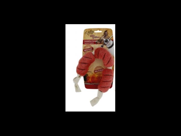 AFP BBQ Scrumptious Sausages L jouet Chien