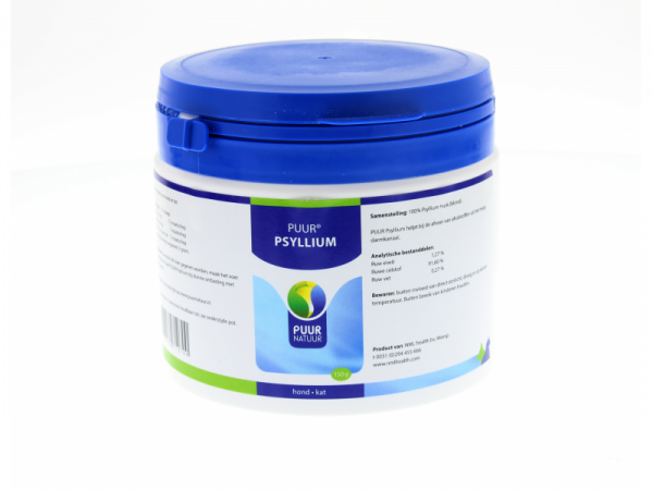 Puur Psyllium Chien Chat 150 grammes