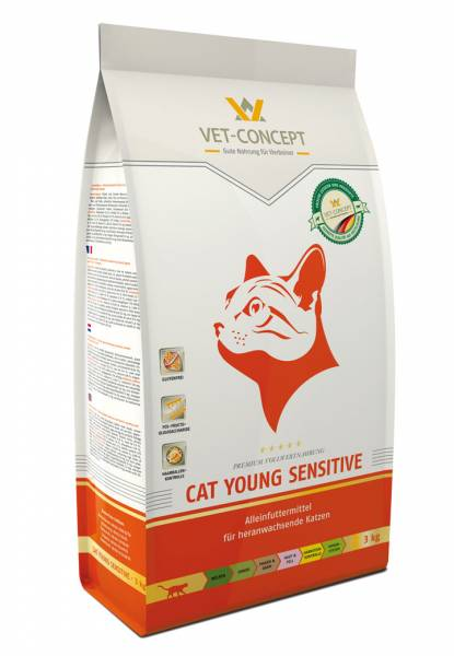 Vet-Concept Cat Young Sensitive 3 kg