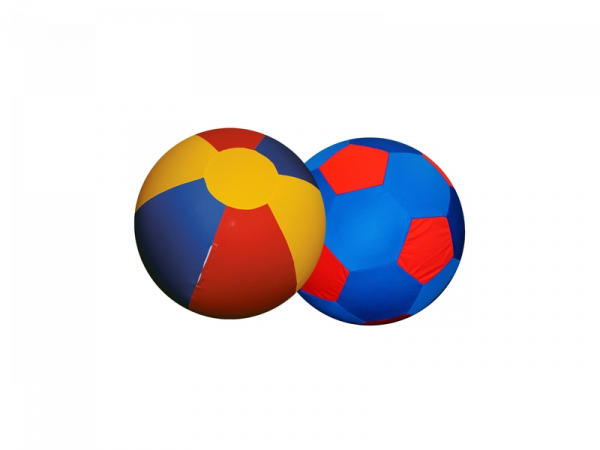 Jolly Mega Ball Cheval 100 cm Cover Red-Blue-Yellow
