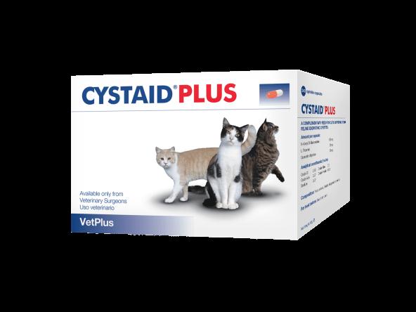 Cystaid Plus Vetplus Chat 240 capsules