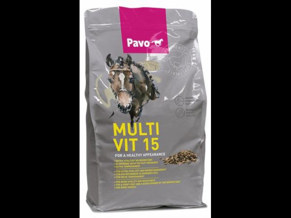 Pavo Multivit 15 seau 3 kg
