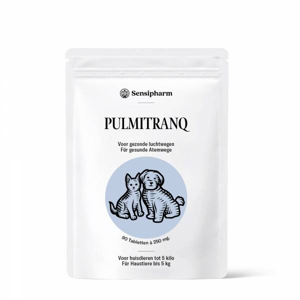 Sensipharm Pulmitranq Petits Animaux 90 comprimés