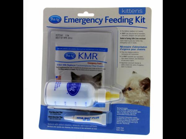 KMR Emergency Feeding Kit Chat 60 ml