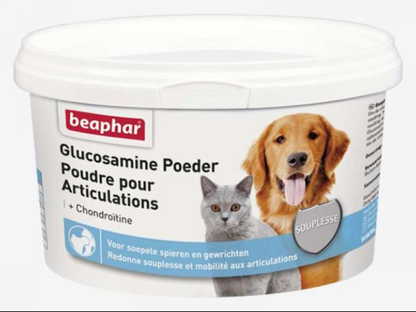 Beaphar Glucosamine Poedre Chien Chat 300 grammes