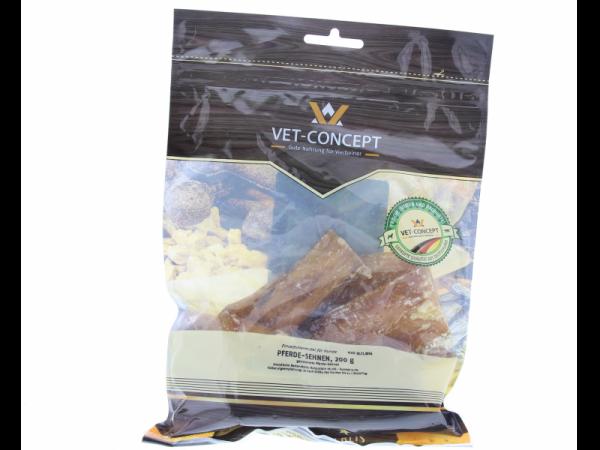 Vet-concept Tendons Cheval Snack Chien 200 grammes