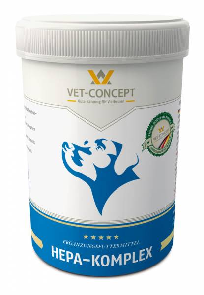 Hepa Complex Vet-concept Foie Chien 500 grammes