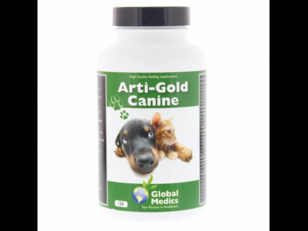 Arti Gold Canine Global Medics 126 Comprimés