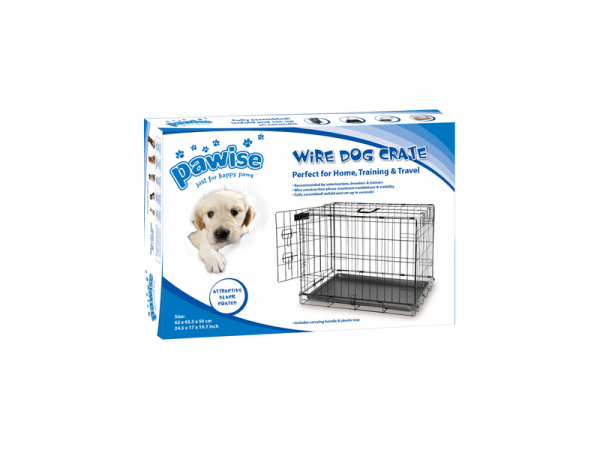 Wire Dog Crate Pawise Cage/Chenil Chien