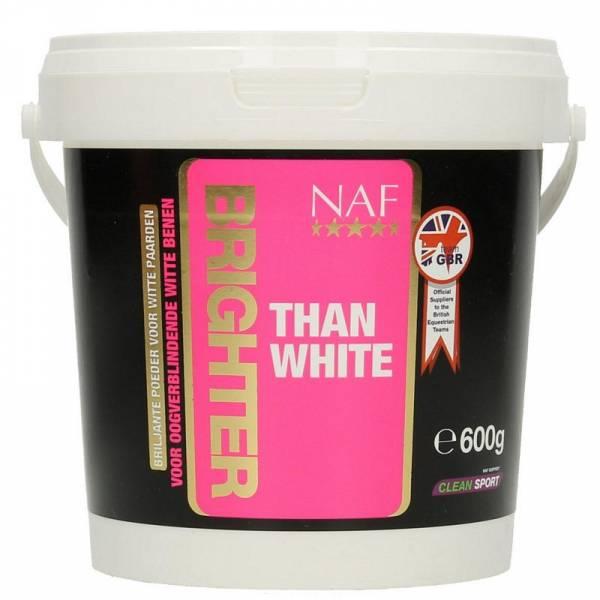 NAF Brighter Than White pâte Blanche Cheval