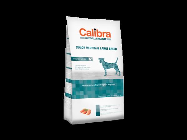 Calibra Dog Hypoallergenic Senior Medium & Large Breed Chicken & Rice