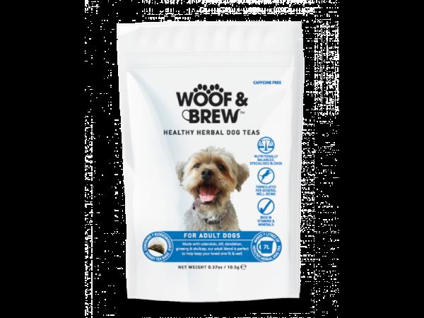 Woof & Brew Hondenthee Adult 10 x 7 theezakjes