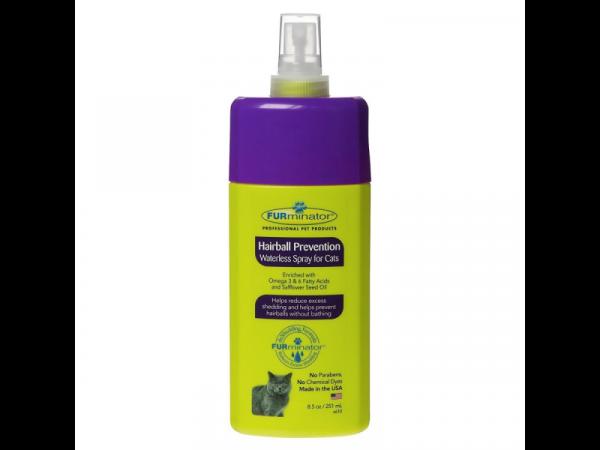 Furminator Hairball Prevention Waterless Spray 250 ml