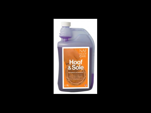NAF ProFeet Hoof & Sole Cheval 1 liter