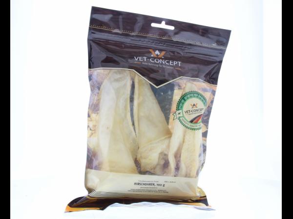 Vet-concept Oreilles Cerf Snack Chien 100 grammes