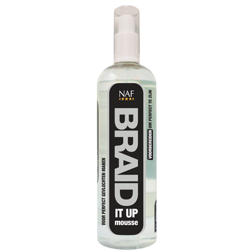 NAF Braid It Up Mousse Cheval 500 ml