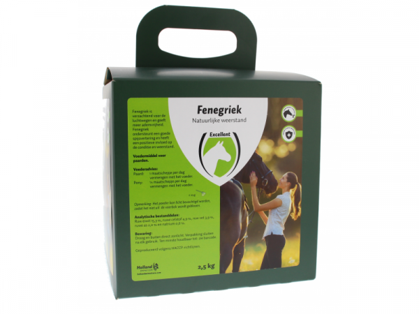 Fenugreek Fenegriek Excellent Cheval 2.5 kg