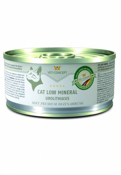 Vet-Concept Menu Chat Low Mineral