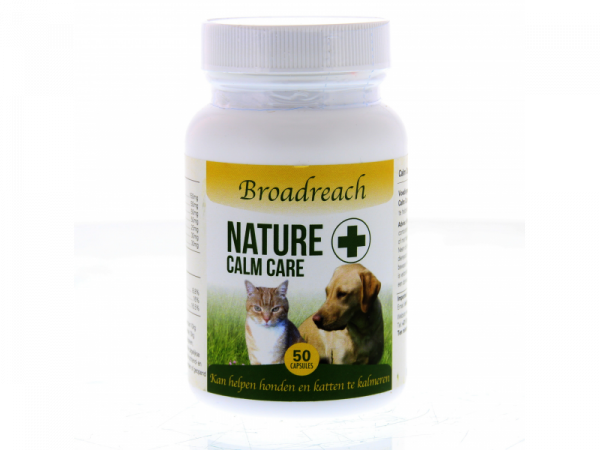 Broadreach Nature+ Calm Care Chien Chat Calmant 50 capsules