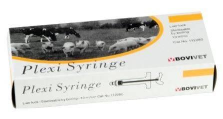 Kruuse Plexi Syringe Luer Lock 20 ml