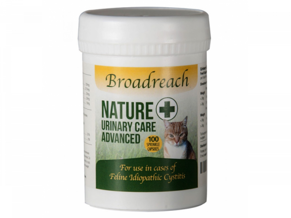 Broadreach Nature+ Urinary Care Voies urinaires Chat 100 capsules