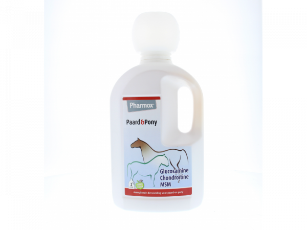 Pharmox Dr Horse Articulation Glucosamine Chondroïtine MSM Cheval Poney 2000 ml