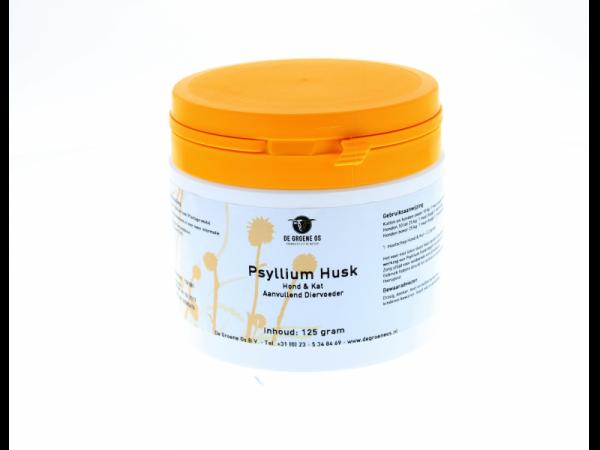 Psyllium Husk Groene Os 125 grammes