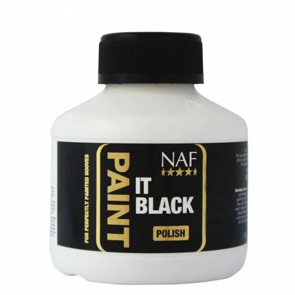 NAF Paint It Black Laque Sabot Noir Cheval 250 ml