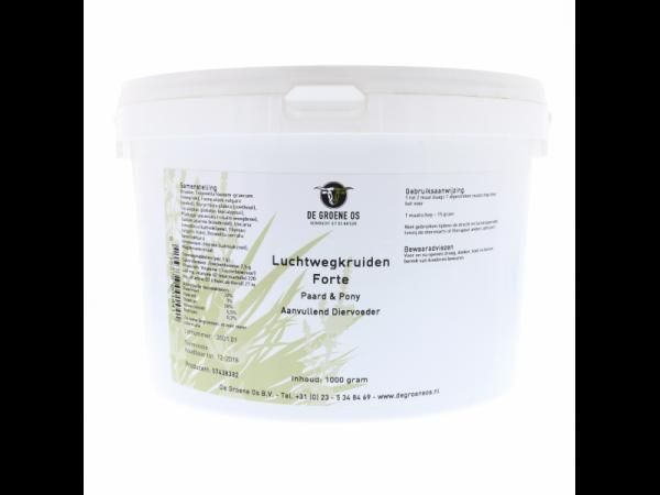 Herbes Voies respiratoires Forte Groene Os 1 kg Cheval