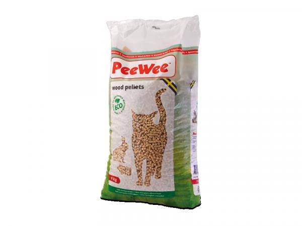 PeeWee granulés bois litière Chat 9 kg