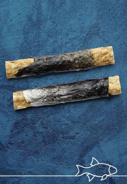 Vet-concept Roulades Saumon avec Viande Snack Chien 2 pièces